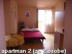 Bibinje blizu Zadra, 30 eur za najem apartmaja v juliju in avgustu